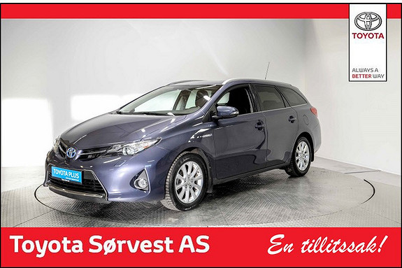 Toyota Auris Touring Sports 1,8 Hybrid Active+  2015, 47 434 km, kr 219 000,-