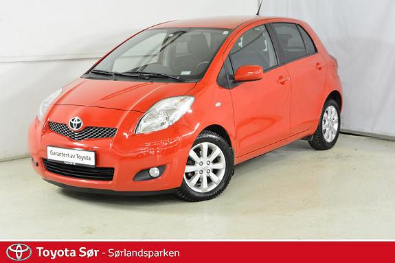 Toyota Yaris 1,33 S&S  2010, 97000 km, kr 89000,-
