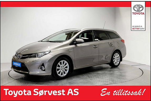 Toyota Auris Touring Sports 1,8 Hybrid Active+  2015, 51 214 km, kr 209 000,-