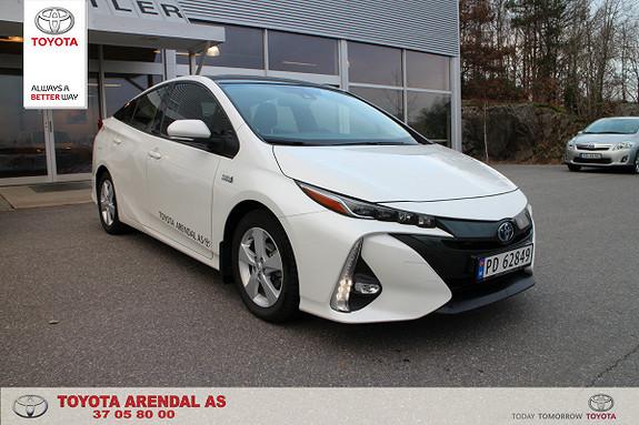 Toyota Prius 1,8 VVT-i Hybrid Executive  2018, 11300 km, kr 329000,-