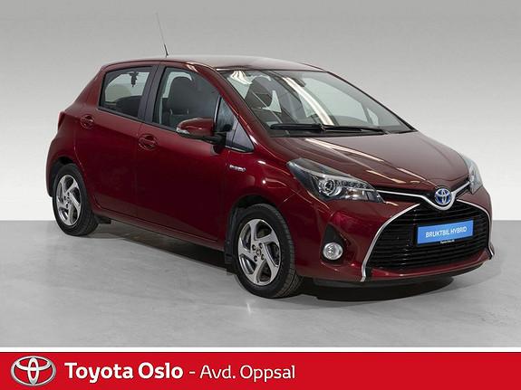 Toyota Yaris 1,5 Hybrid Active S e-CVT Navi, DAB+,  2017, 49427 km, kr 184900,-