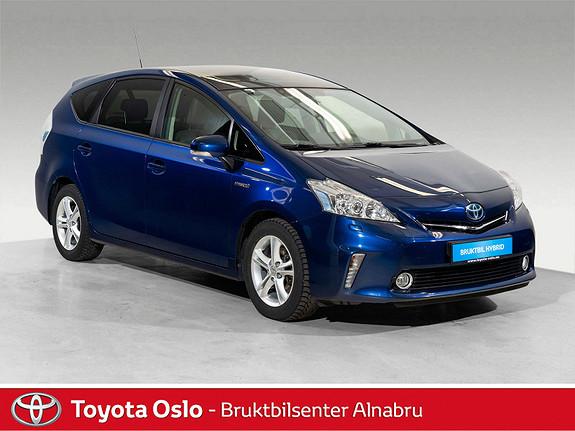 Toyota Prius+ Seven 1,8 VVT-i Hybrid Premium Toppmodell  2014, 88462 km, kr 259900,-