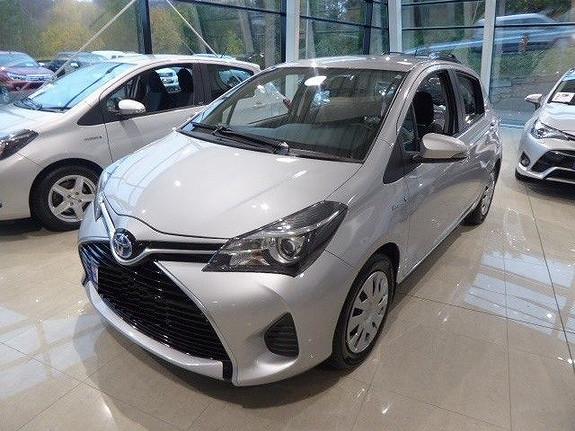 Toyota Yaris 1,5 Hybrid Active e-CVT  2015, 47719 km, kr 179000,-