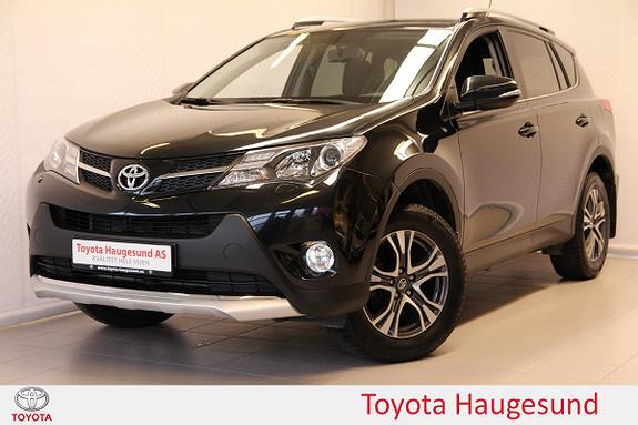 Toyota RAV4 2,0 4WD Active Style CVT Navi, DAB+, kamera, Bluetooth  2015, 48378 km, kr 349000,-
