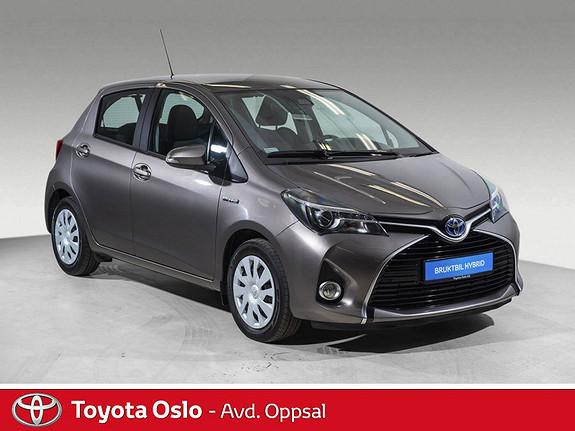Toyota Yaris 1,5 Hybrid Active S e-CVT Navi, DAB+,  2017, 52498 km, kr 179900,-