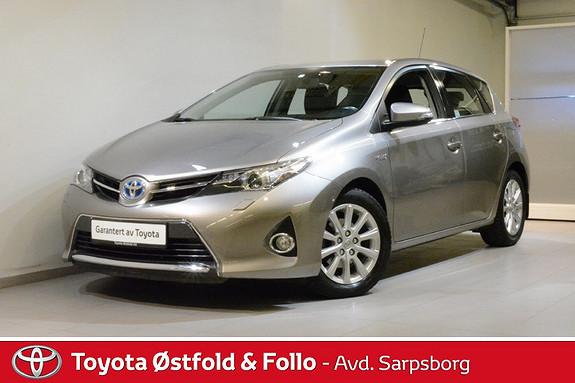 Toyota Auris 1,8 Hybrid E-CVT Active  2013, 95900 km, kr 155000,-