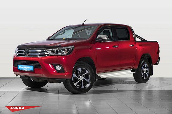 Toyota HiLux D-4D 150hk D-Cab 4WD SR+ aut Tectyl Behandlet  2017, 24500 km, kr 439000,-