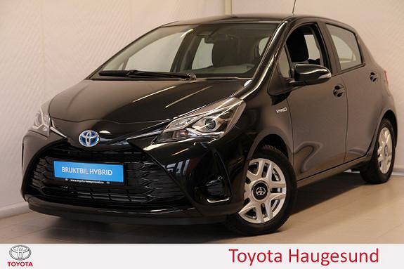 Toyota Yaris 1,5 Hybrid Active e-CVT aut Navi, kamera, DAB+, Tectyl  2018, 1159 km, kr 219000,-