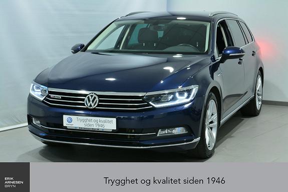Volkswagen Passat 2,0 TDI 190hk Highline 4MOTION DSG ÅPNINGSKAMAPANJE  2016, 44800 km, kr 409000,-
