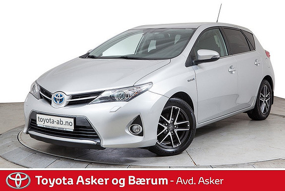 Toyota Auris 1,8 Hybrid E-CVT Active+ SE HER.  2015, 49000 km, kr 194000,-