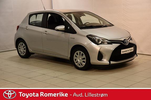 Toyota Yaris 1,5 Hybrid Active S e-CVT  2015, 26886 km, kr 165000,-