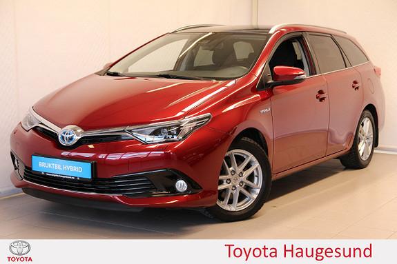 Toyota Auris Touring Sports 1,8 Hybrid Style Edition Navi, Tectyl  2017, 12629 km, kr 289000,-