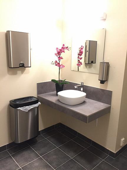 Nyoppussede toalettkjerner, 2. etg