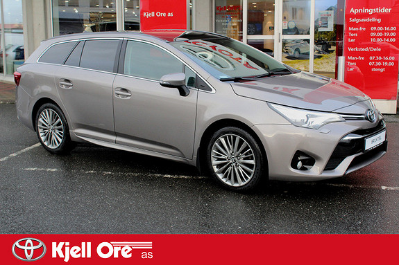 Toyota Avensis Touring Sports 1,6 D-4D Active Style Panorama, Navi ++  2015, 57 201 km, kr 249 000,-
