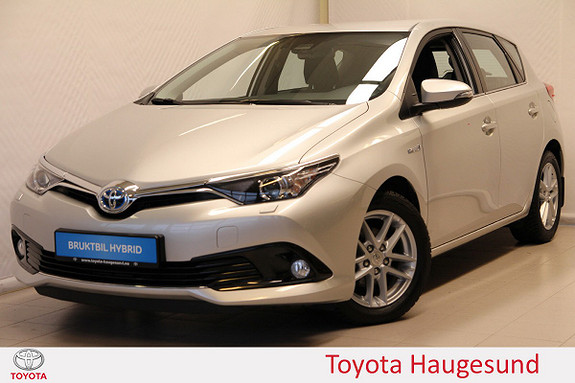 Toyota Auris 1,8 Hybrid E-CVT Active  2017, 26450 km, kr 249000,-