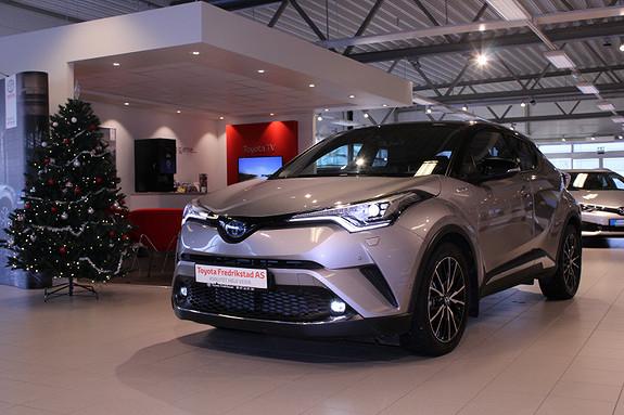 Toyota C-HR 1,8i Hybrid Dynamic Tech  2017, 7000 km, kr 369000,-