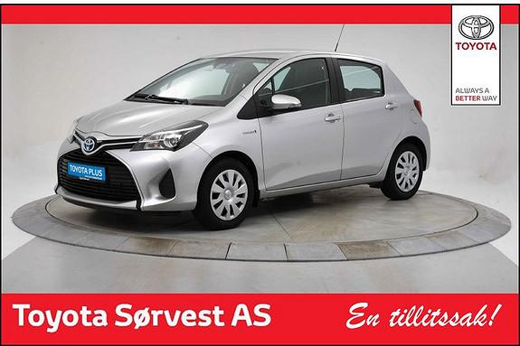 Toyota Yaris 1,5 Hybrid Active e-CVT  2015, 22985 km, kr 185000,-