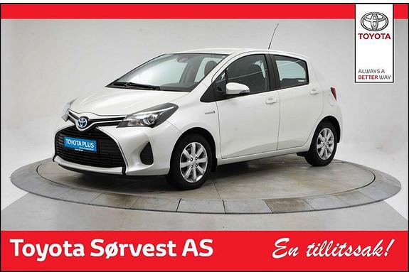 Toyota Yaris 1,5 Hybrid Active e-CVT  2015, 24864 km, kr 179000,-