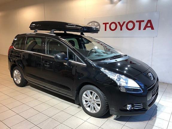 Peugeot 5008 1,6 HDI Premium  2012, 126082 km, kr 125000,-