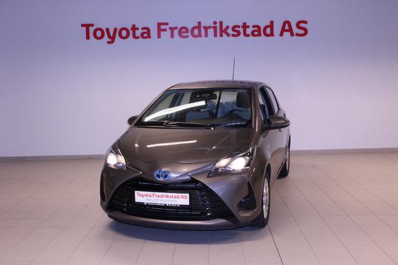 Toyota Yaris 1,5 Hybrid Active Go e-CVT aut  2017, 47000 km, kr 219000,-