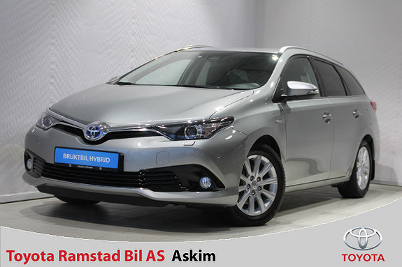 Toyota Auris Touring Sports 1,8 Hybrid Active Sport  2017, 43 500 km, kr 249 000,-