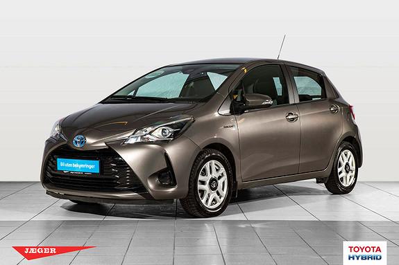 Toyota Yaris 1,5 Hybrid Active Go e-CVT aut M. Toyota Safety Sense  2017, 43900 km, kr 219000,-