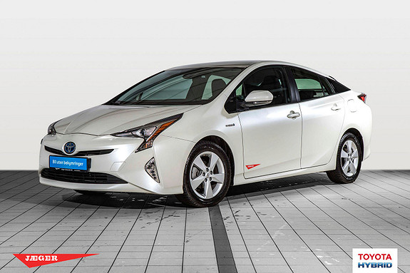Toyota Prius 1,8 VVT-i Hybrid Active Style Flott demobil  2018, 3800 km, kr 309000,-
