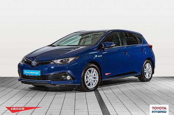 Toyota Auris 1,8 Hybrid E-CVT Style Edition Glasstak  2018, 950 km, kr 299000,-