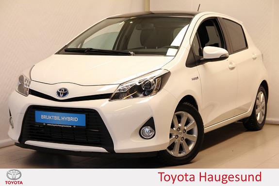 Toyota Yaris 1,5 Hybrid Style  2013, 19745 km, kr 159000,-