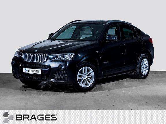 BMW X4 xDrive20d aut 190 HK M-Sport DDC Panorama Navi Hifi  2015, 44100 km, kr 485000,-