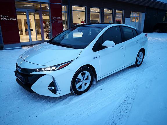 Toyota Prius Plug-in Hybrid 1,8 VVT-i Solar PHV med solcelletak  2017, 31750 km, kr 289000,-