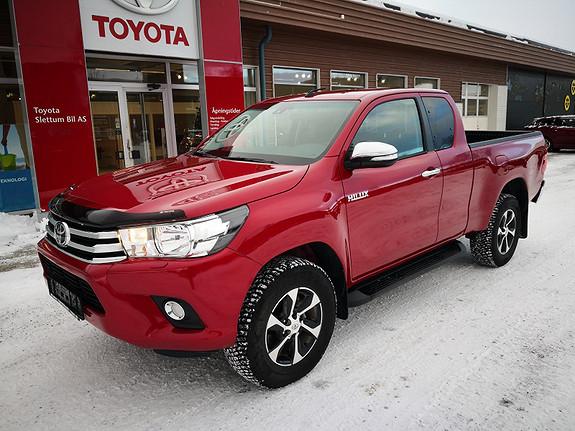 Toyota HiLux D-4D 150hk X-Cab 4WD SR  2018, 7460 km, kr 386000,-