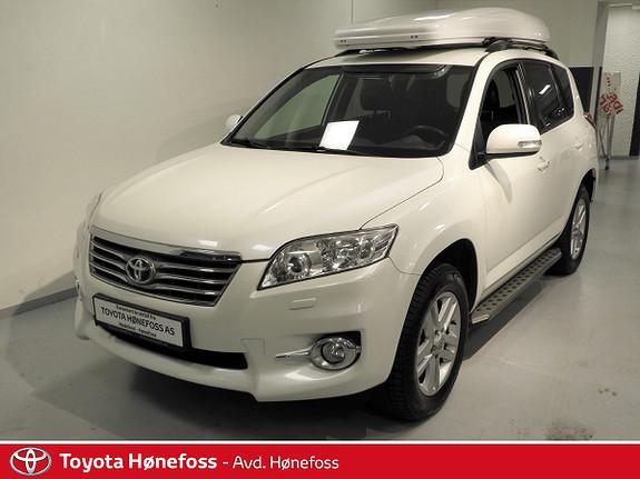 Toyota RAV4 2,2 D-4D Executive Hengerfeste, Skiboks, Delskinn  2010, 181318 km, kr 159000,-