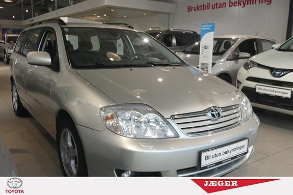 Toyota Corolla 1,4 D-4D Sol SJEKK KILOMETERSTAND! DAB+! HENGERFESTE!  2006, 96100 km, kr 69000,-