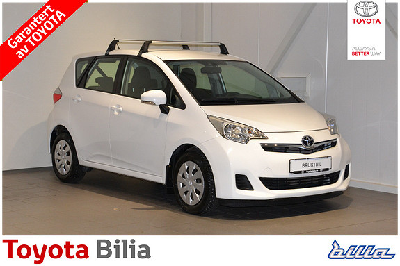 Toyota Verso-S 1,33 Dynamic S&S Multidrive S  2011, 57500 km, kr 112000,-