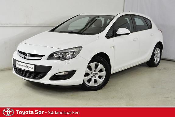 Opel Astra 1,6 CDTi 110hk Edition  2015, 87500 km, kr 129000,-