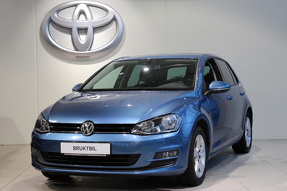 Volkswagen Golf 1.6 TDI 105HK  2013, 59660 km, kr 169000,-