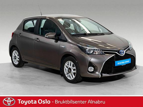 Toyota Yaris 1,5 Hybrid Active S e-CVT 20.000,- innbytte  2017, 27307 km, kr 184900,-