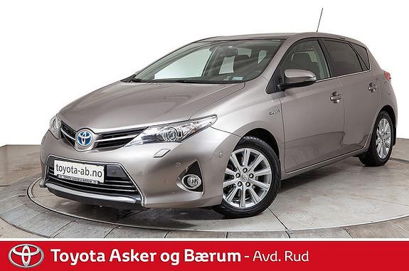 Toyota Auris 1,8 Hybrid E-CVT Executive  2013, 72700 km, kr 179000,-