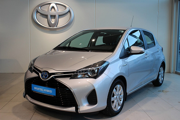 Toyota Yaris 1.5 Hybrid Active m/Navi og Cruise  2015, 43344 km, kr 169000,-