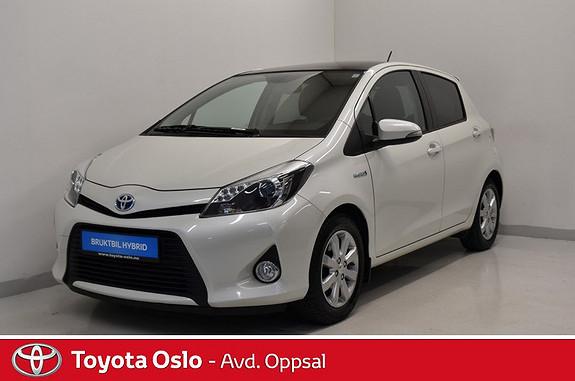 Toyota Yaris 1,5 Hybrid Style  2014, 48595 km, kr 169900,-