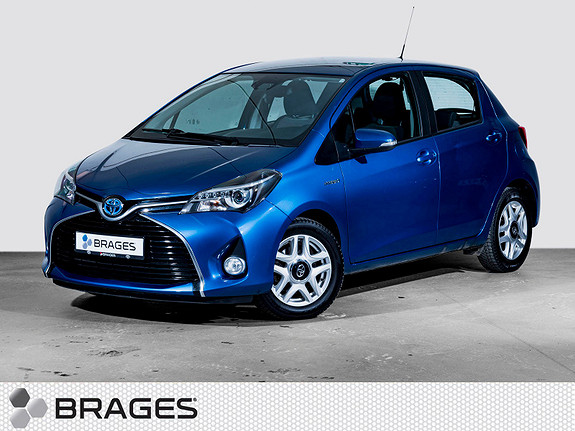 Toyota Yaris 1,5 Hybrid Active S e-CVT Electric Blue Metallic  2016, 34 999 km, kr 179 000,-