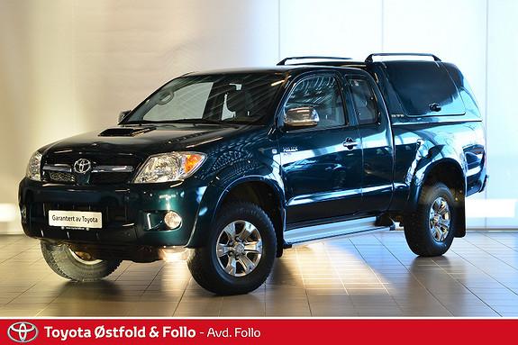Toyota HiLux D-4D 120hk X-Cab 4wd  2009, 27202 km, kr 239000,-