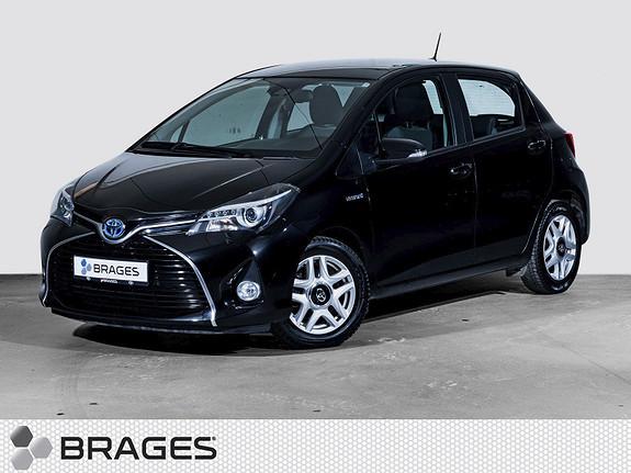 Toyota Yaris 1,5 Hybrid Active S e-CVT Navi, Cruise, DAB+, R.kamera  2016, 40600 km, kr 179000,-
