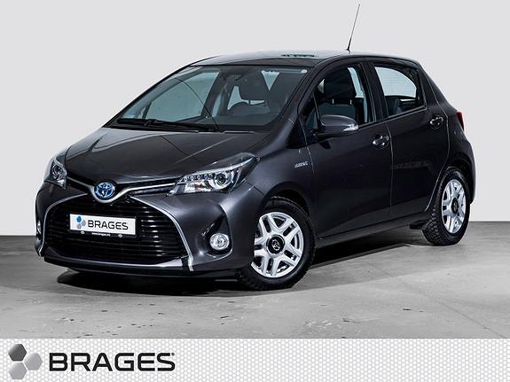 Toyota Yaris 1,5 Hybrid Active S e-CVT Navi, DAB+, Bluetooth, Tectyl  2015, 34999 km, kr 165000,-