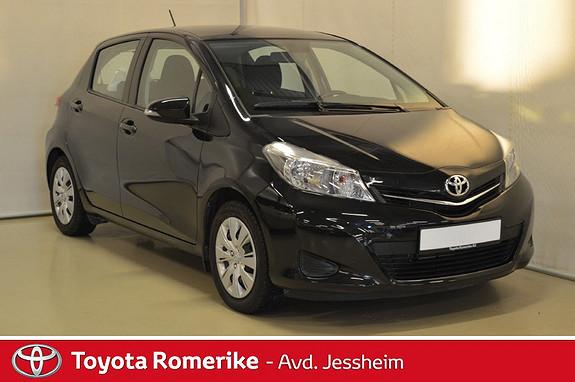 Toyota Yaris 1,33 Active DAB+, hengerfeste, navigasjon  2013, 49000 km, kr 139000,-