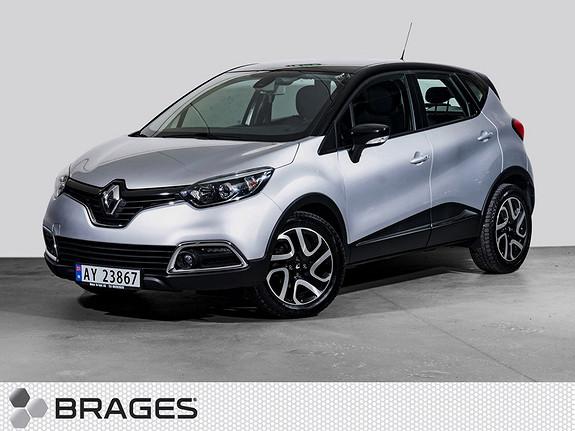 Renault Captur TCe 120 EDC aut. Dynamique Navi, Ryggekam, Keyless, Lav km  2014, 31500 km, kr 149800,-