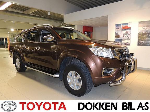 Nissan Navara Double Cab 2,3 dCi 190 Tekna aut m/motor/kupevarmer  2016, 36706 km, kr 359000,-