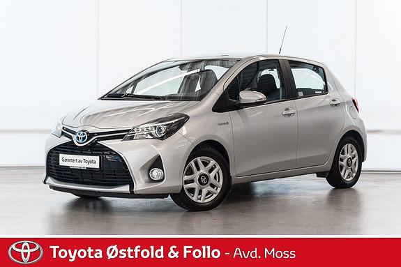 Toyota Yaris 1,5 Hybrid Active S e-CVT /LAV KM/STORSERVICE TATT  2016, 33000 km, kr 178000,-