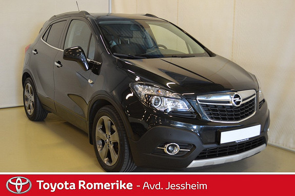 Opel Mokka 1.4T 140hk 4X4 Premium Skinn, Bi Led, tilhengerfeste  2014, 93200 km, kr 189000,-